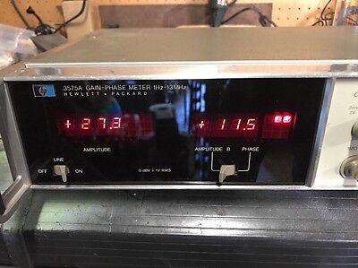 HP 3575A Gain-Phase Meter 1Hz -13 MHz Hewlett Packard Working