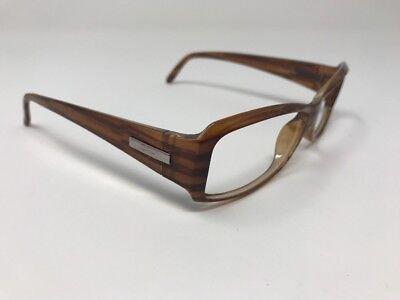 Ray Ban Rx Sunglasses RB4078 689 Wood Grain Rectangular Frame Italy U715