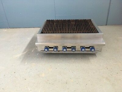Imperial Irb-36 Natural Gas 36 Counter Top Charbroiler Grill