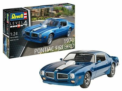 Revell 07672 Pontiac Firebird Plastik Modellbausatz 1:24 NEU