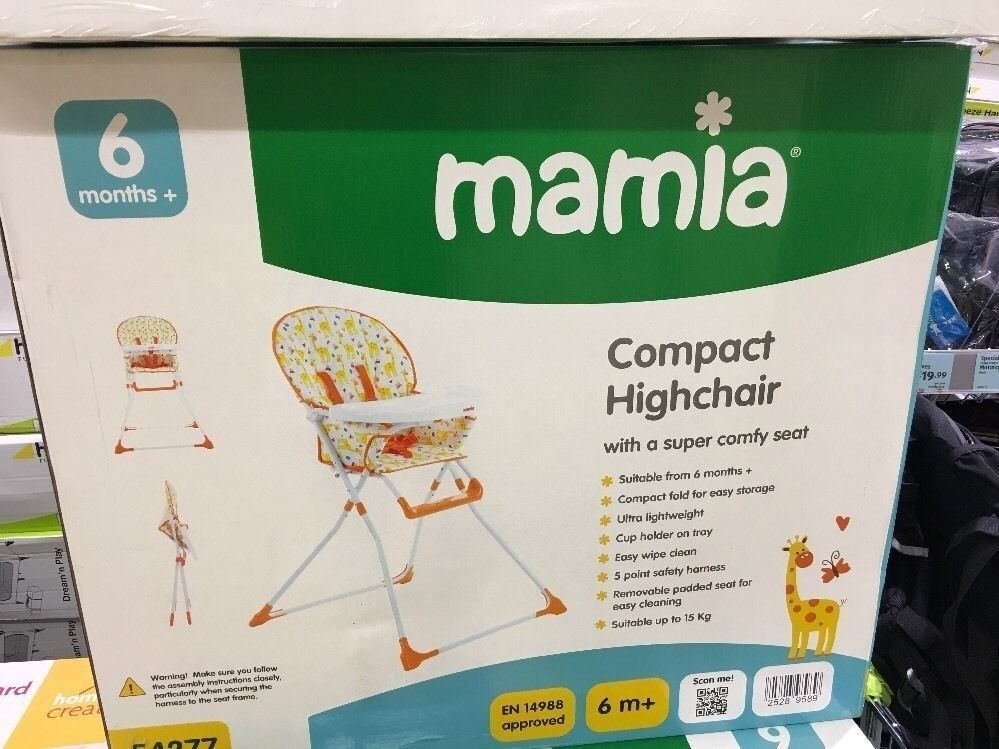 NEW BABY HIGH SEAT CHAIR BOOSTER WITH TRAY INFANT TODDLER NURSERY - £15
