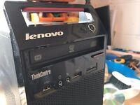 *REDUCED* Wifi ready Lenovo ThinkCentre Edge 73 TWR Desktop, Intel i5-4430S 2.7GHz, 4GB RAM, 500gb