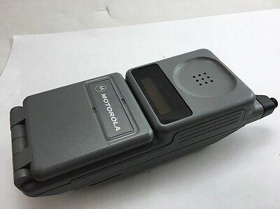 MOTOROLA MICRO TAC CELL PHONE VINTAGE 90's DPC550 DIGITAL PERSONAL COMMUNICATOR