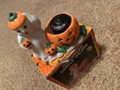 PUMPKIN TIME KMART HALLOWEEN CANDLE HOLDER ](Halloween Kmart)