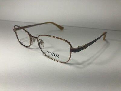 VOGUE VO 3904 813 Eyeglass Frame Women's Bronze Rx New Designer Glasses