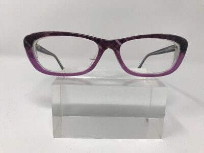 Kenneth Cole Reaction Eyeglasses KC8017 083 50-14-140 Brown Purple H781