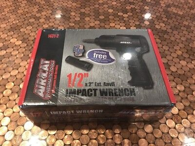 New Aircat Pneumatic Tools High-low Torque 12 Impact Wrench 1431-2