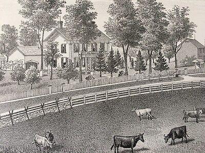 1878 John Eddy Farm Saratoga Springs New York Historic Residence - Saratoga Farm
