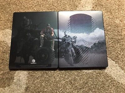 Tom Clancys Ghost Recon Wildlands Ghost Edition Steelbook Only Very Rare