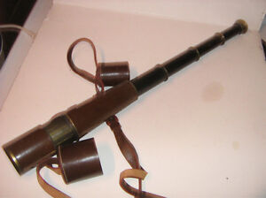Antique/vintage Broadhurst Clarkson and company 4-draw telescope