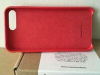 iPhone 7 PLUS case — red