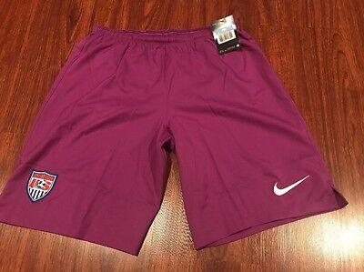 Nike Mens United States Soccer Jersey Shorts Medium M Us Usa Usmnt