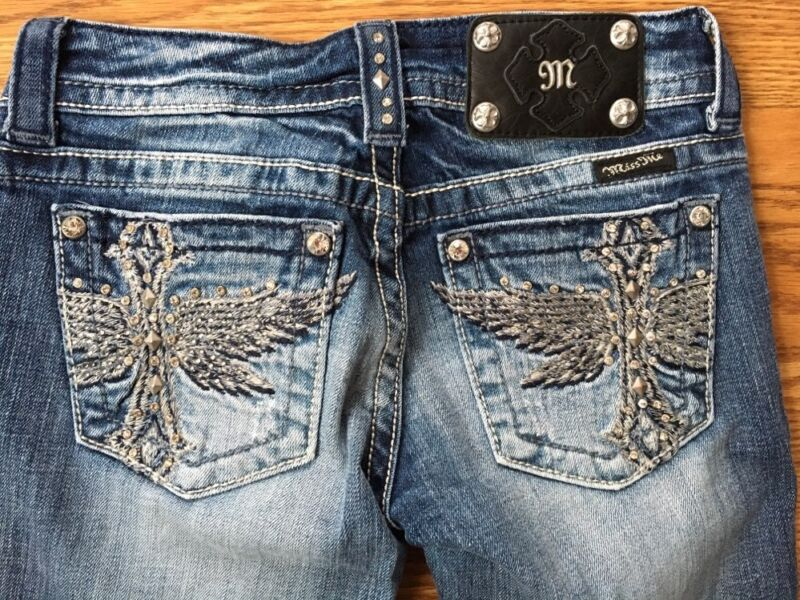 Miss Me Jeans Girls Size 25 Bootcut