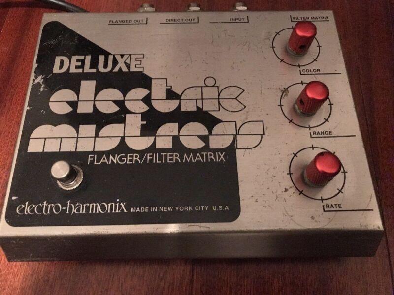 Electro-Harmonix Deluxe Electric Mistress Flanger / Filter Matrix 110-volt