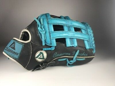 New York Yankees Cameron Maybin Game Used Issued Glove Akadema AMR34