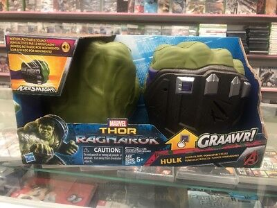 Hulk Gloves (Marvel HULK HANDS Smash FX Fists Gloves Thor Ragnarok)