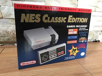 Nintendo Comfort NES Mini Classic Edition with 30 Games Sold Out In stores Rare