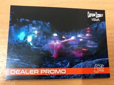 2018 Captain Scarlet & Mysterons 50th Dealer Promo Card MBP1
