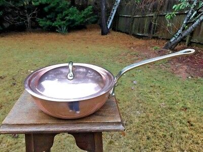 Mauviel Copper Saucier - Mauviel By Williams Sonoma Copper 8.5