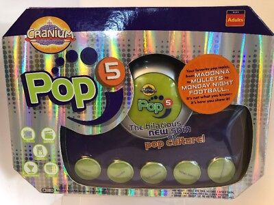 Cranium Pop 5 Party Game Adult Culture, Music, Fashion, Movies TV and More