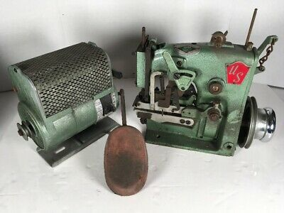 Us Blind Stitch Sewing Machine Model E.w.b. Industrial Commercial