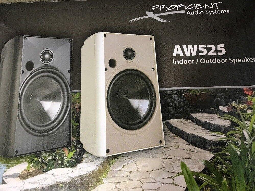 Proficient Audio AW525 125 W RMS - 5.25 Woofer Speaker - 2-w