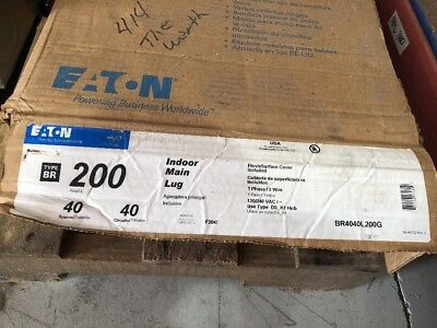 Eaton Load Center 200 Amp 120240 Volt Single Phase 3 Wire