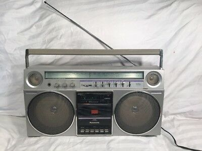VINTAGE Panasonic RX-5085 Boombox Ghetto Blaster fully working! READ