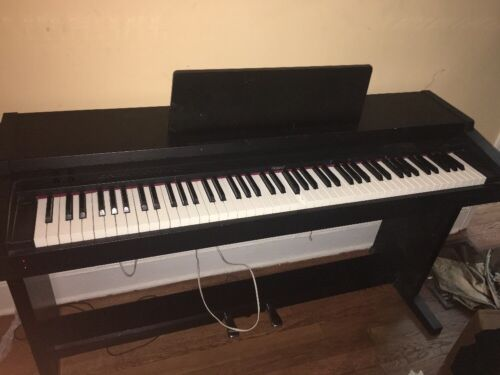 roland hp 1500 digital piano with full 88 key ivory feel weighted keyboard ebay. Black Bedroom Furniture Sets. Home Design Ideas