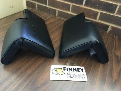 John Deere 350c 450c Dozer  Loader Arm Rest Pair Seat
