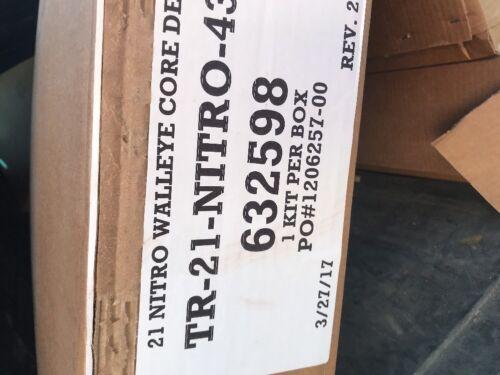 TRACKER 21 NITRO 188 SPORT WALLEYE BALSA Core Deck Kit OEM