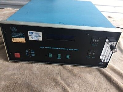 Dasibi Environmental 3008 Gas Filter Correlation Co. Analyzer