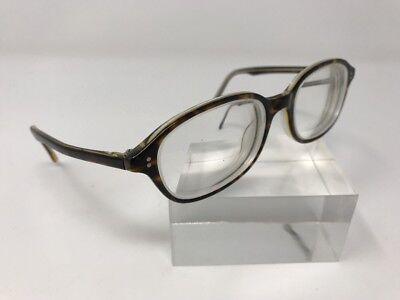 Henry Grethel Eyeglasses Demo Blonde Italy Havana Crystal 51-18-140 Unique 3697