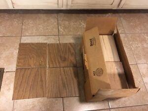 Laminated Oak Bruce Hardwood Flooring Solid 18 SQ FT