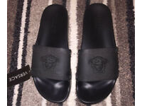 Versace Sliders Size 10