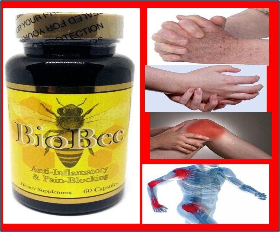 2 BioBee Muscle Joint Relief Arthritis Anti-Inflammatory Cure Bee Therapy Pill 2 2