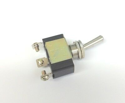 Toggle Switch - Heavy-duty Motor Rated - Spst On-off Screw Terminal