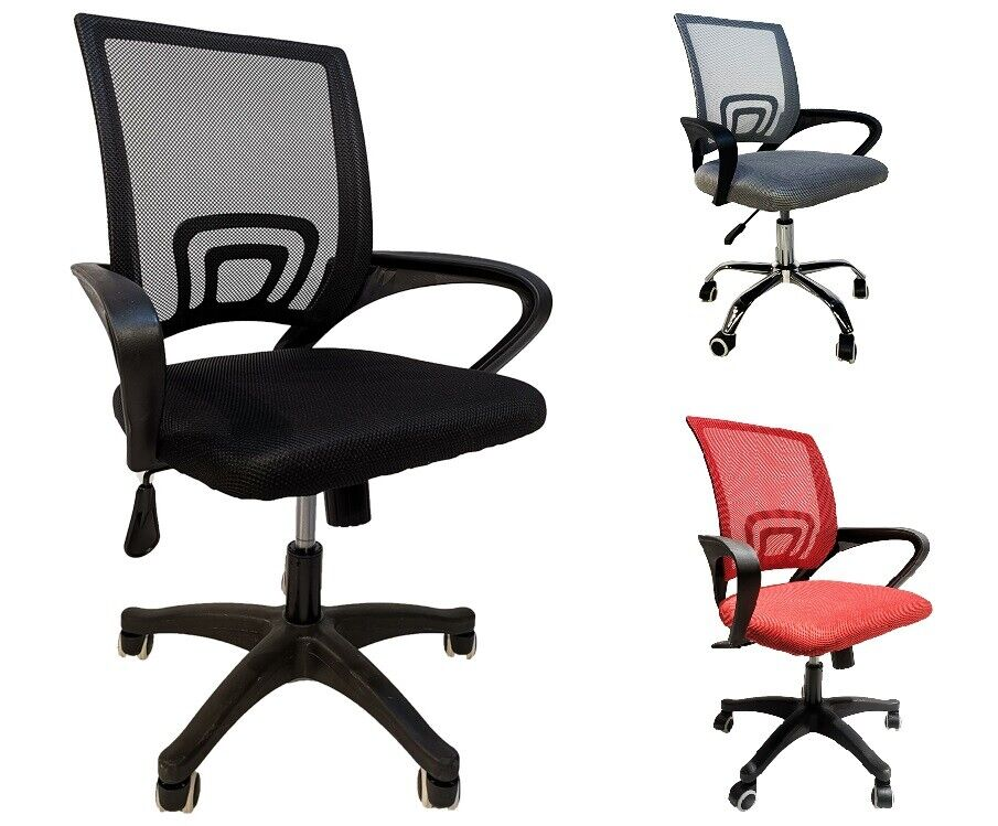 Bürostuhl Stuhl Drehstuhl Schreibtischstuhl Chefsessel Mesh Netzdesign #5147
