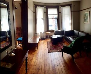 Downtown Furnished 2 Bdrm Heritage Property (heat/water incl)