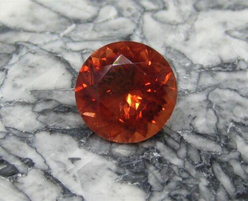 Oregon Sunstone, 2.60 cts., Red Round Cut, #sso260