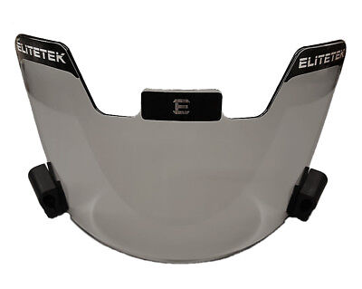 EliteTek Football Eye-shield Visor (Smoke Tinted)