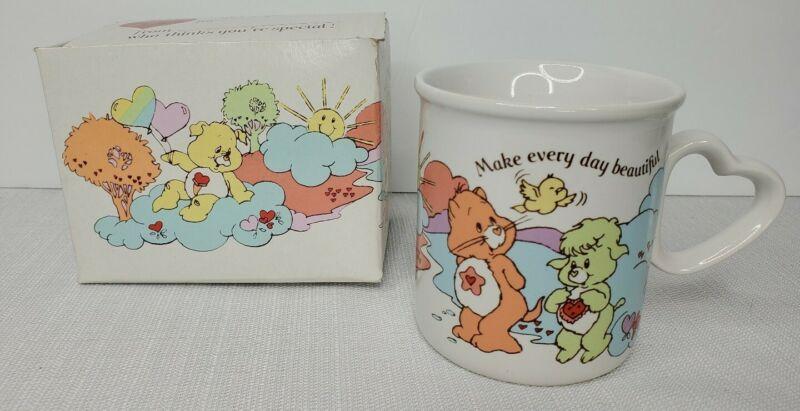 CARE BEAR COUSINS Coffee Mug Cup Heart Handle American Greetings Vintage