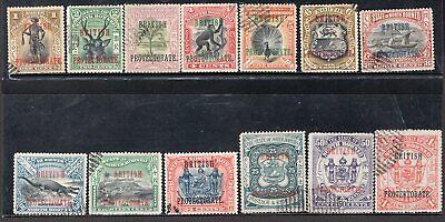 BRITISH NORTH BORNEO 1901/5 STAMP Sc. # 105/16 AND 108 USED