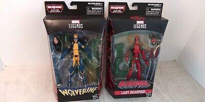 WOLVERINE (X-23) & LADY DEADPOOL X-Men Marvel Legends X-Force Sauron Wave MIB