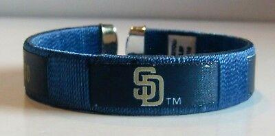 San Diego Padres Fan Band Bracelet MLB Licensed Baseball Jewelry San Diego Padres Jewelry