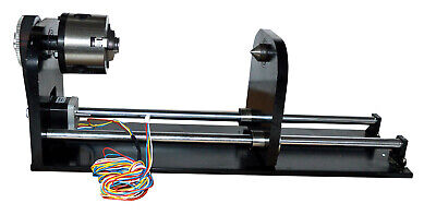Rotary Axis For Co2 Laser Machine Nema 17 Laser Engraver Cut 4 Wire