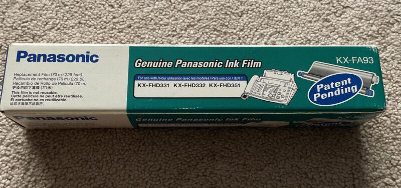 Panasonic Genuine Panasonic Ink Film KX-FA93