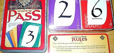 It Came To Pass Card Game In A Tin Lds Mormon 100  Complete  Excellent   Rare