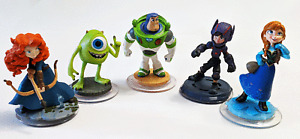 Disney Infinity 2.0, 3.0 - Assorted Characters - Mike, Buzz, Mer