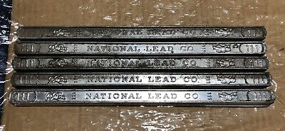 Lot Of 5 5050 Solder Bars Leadtin 111 National Lead Co.